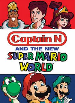 super mario world a última série animada do mario jwave