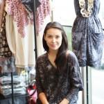 A estilista Cynthia Hayashi, vencedora do Projeto Fashion