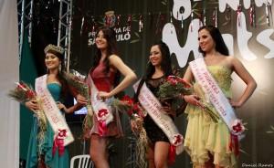As vencedoras do Miss Nikkey Matsuri 2013