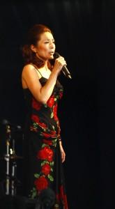 Márcia: cantora brasileira de sucesso no Japão