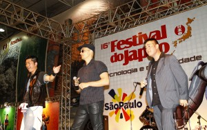 Diogo Miyahara, Nordan Manz e Hideki Ito