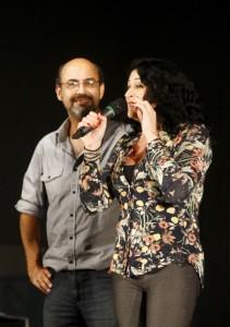 Élcio Sodré e Tânia Gaidarji