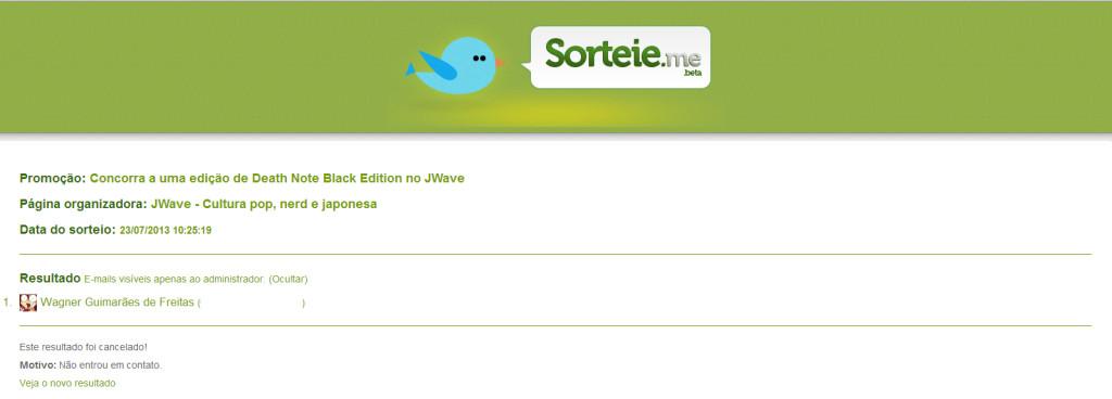 Sorteio 1