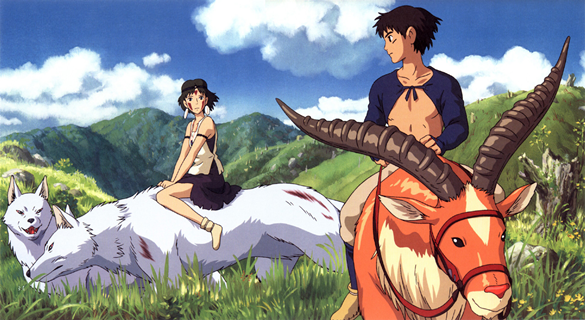 Mononoke Hime - Sam and Ashitaka