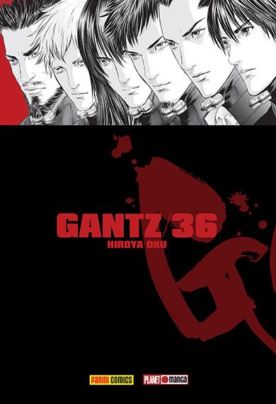 Gantz#36_capas