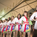 As candidatas do Miss Nikkey Matsuri 2014