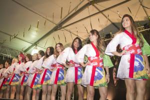 As candidatas do Miss Nikkey Matsuri 2014