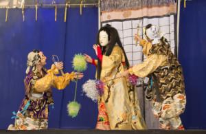 Grupo Kagura do Brasil, com a lenda de Kurozuka