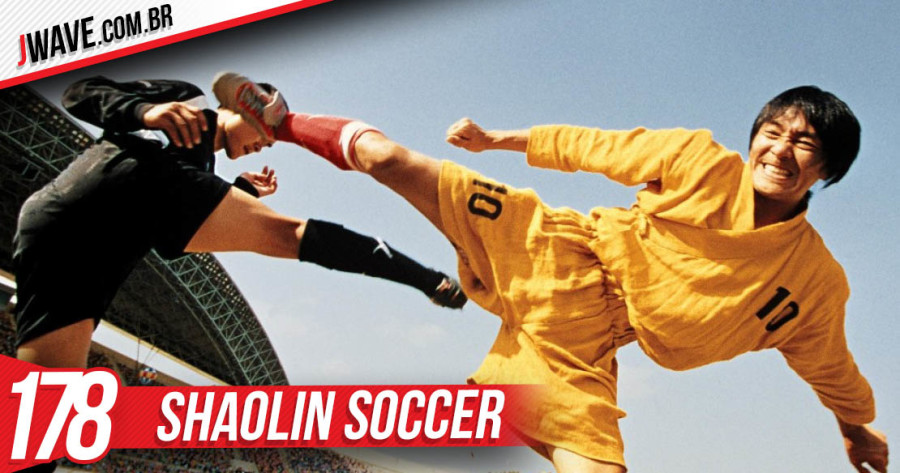 JWave Capa Post Shaolin Soccer