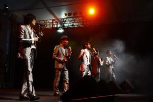 O grupo vocal INSPI - uma das atrações internacionais do evento