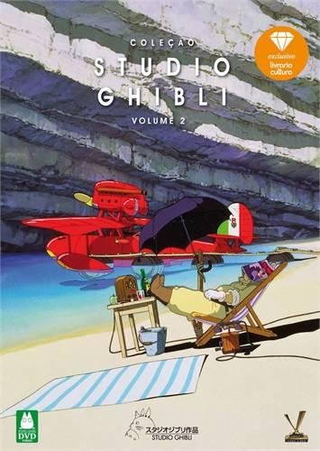 STUDIO GHIBLI - COLEÇAO, V.2 (DVD)