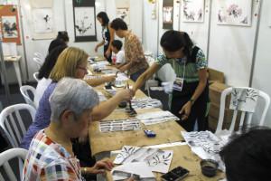Diversos workshops foram realizados dentro do evento