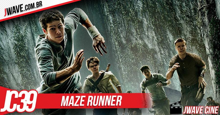 JWave Cine Capa Post Maze Runner