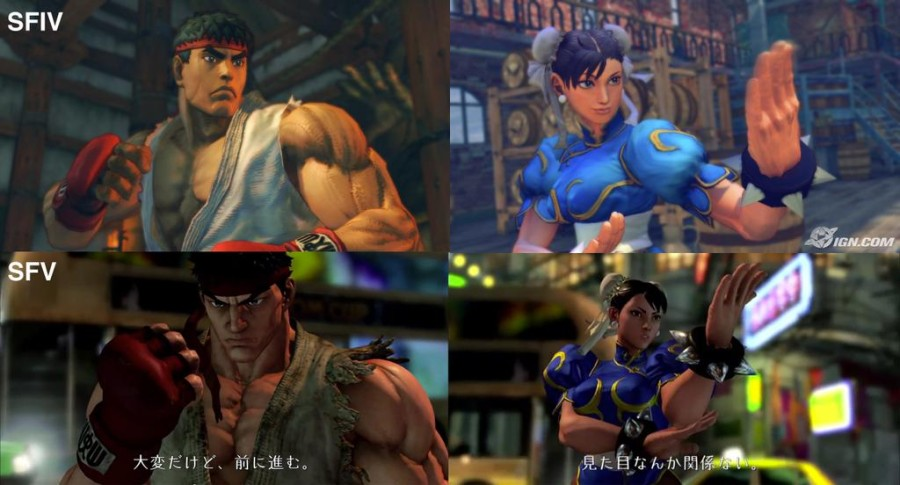 street-fighter-V-vs-Street-Figter-IV-comparison-screenshot