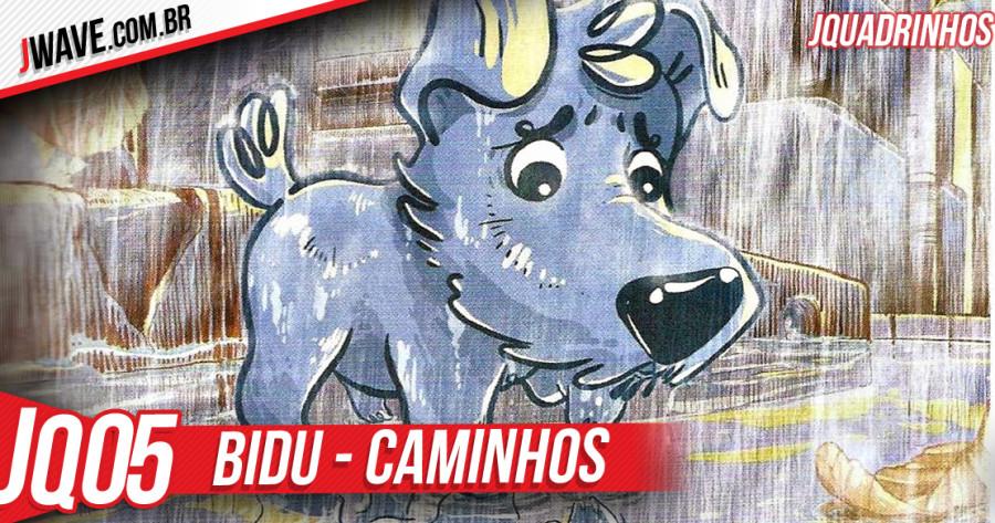 JWave Quadrinhos Bidu Post