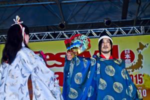 Bugaku-za - atração internacional do Festival