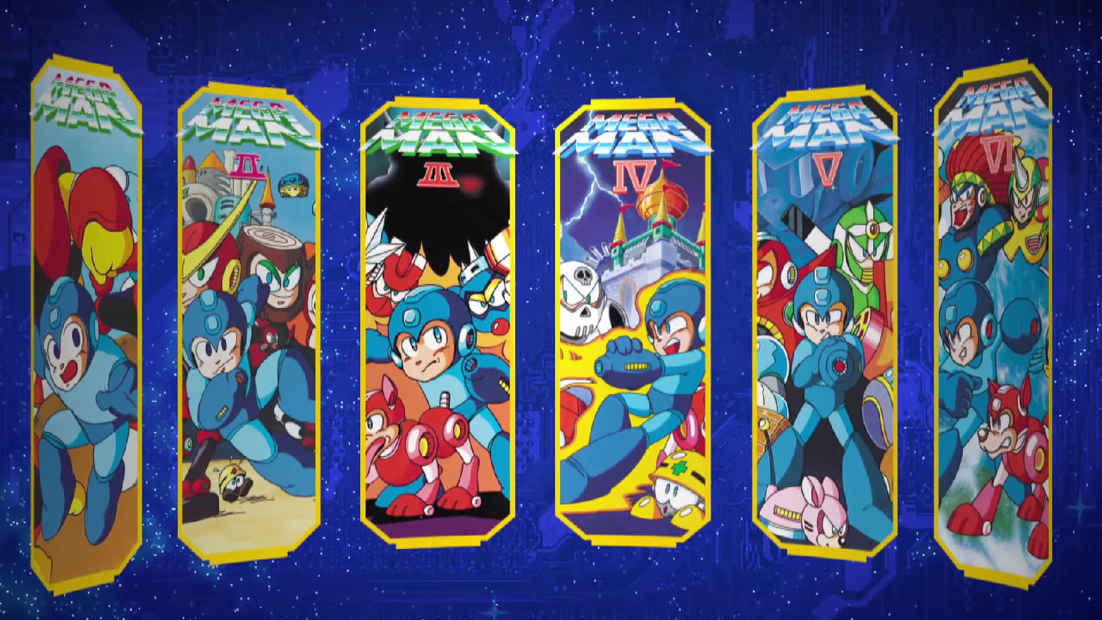 Lançamento de Mega Man Legacy Collection!