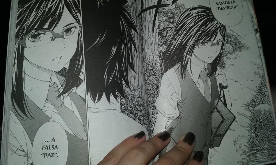 Tsuruko descobre algo que passou despercebido a seus companheiros... o que será?