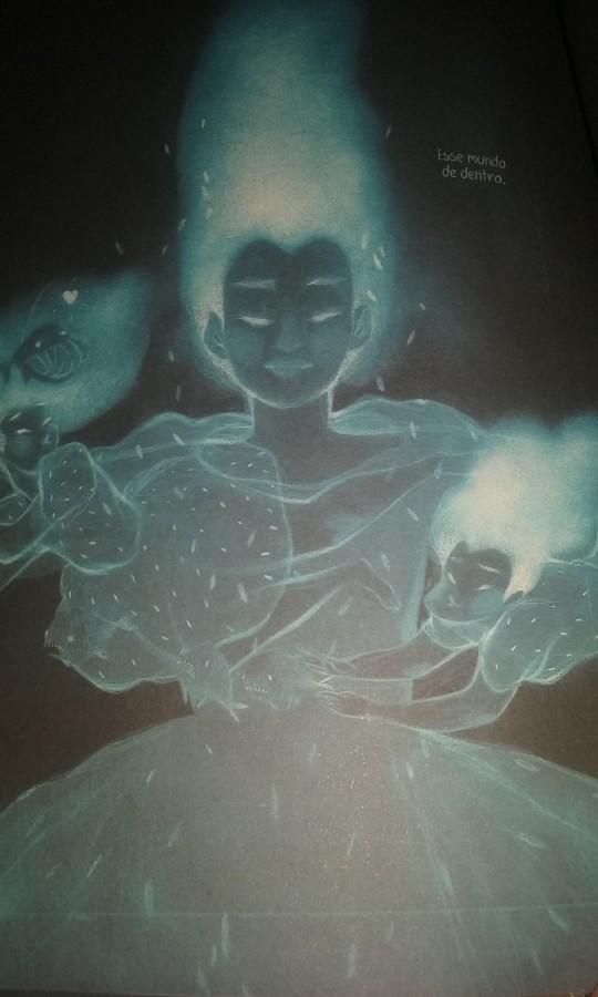 """O """"Mundo de Dentro"""" de Bruna, na visão de Lu Cafaggi"""