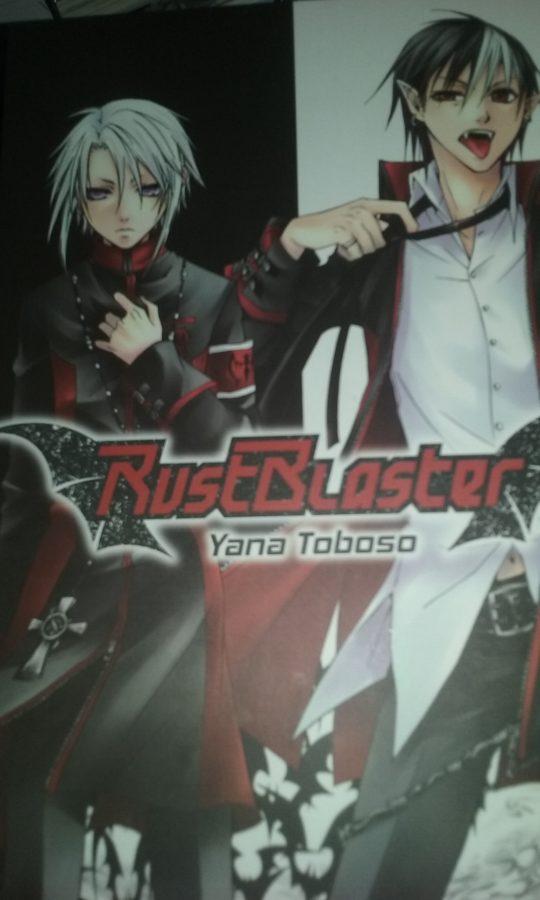 Capa da edição brasileira de Rust Blaster